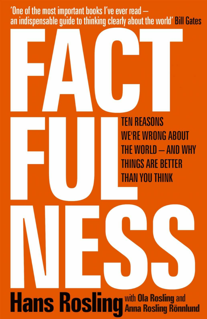 Coverpage of the book titled Factfulness